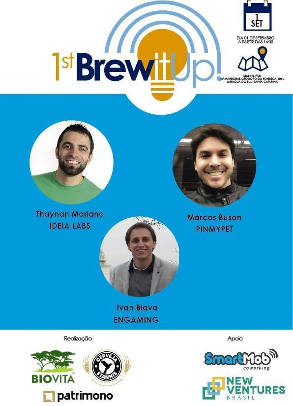Ideia Labs no 1st Brew it Up
