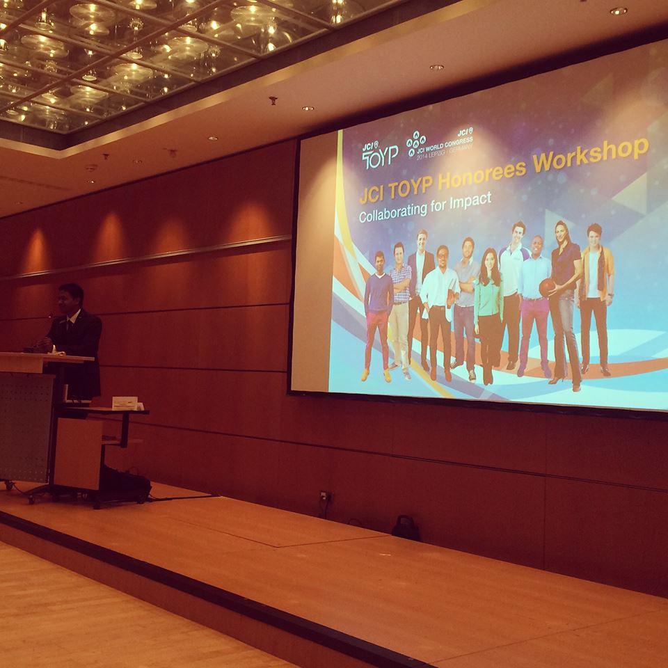 Ideia Labs no Congresso Mundial da JCI