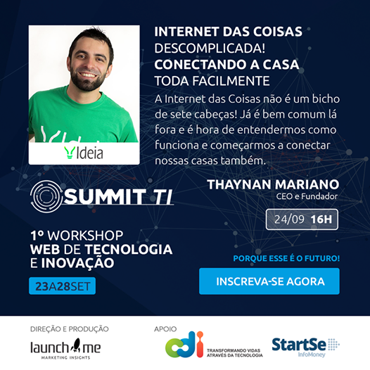 Ideia Labs no Summit TI