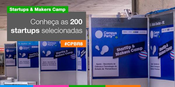 Ideia Labs selecionada para o Startups & Makers Camp da Campus Party 2015